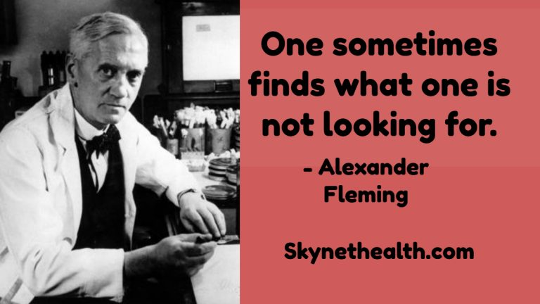 Alexander Fleming Quotes